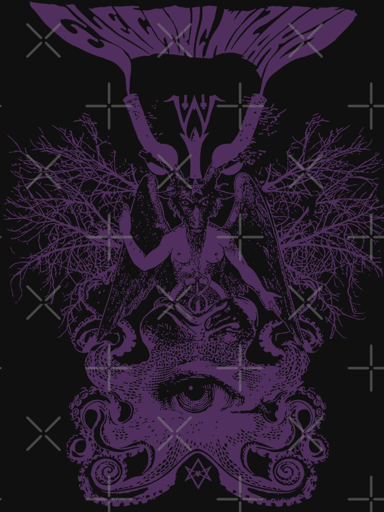 Electric Wizard - Baphomet (Purple) by lnfernum