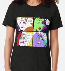 Bösewicht Welt Probleme Vintage T-Shirt