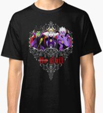 Three Wise Villains (black) Classic T-Shirt