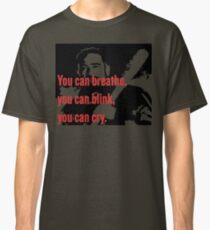 Negan: You Can Cry Quote Classic T-Shirt
