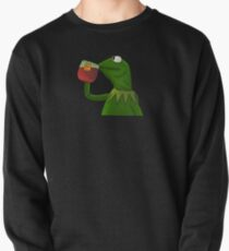 Funny Kermit That's None Of My Business Pullover