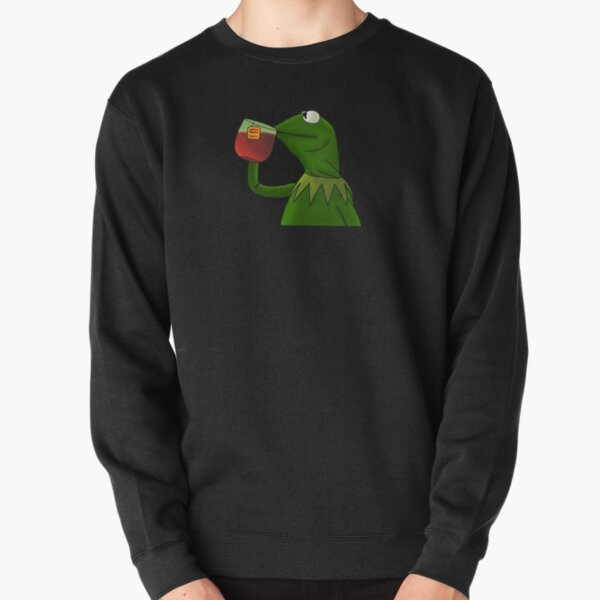Funny Kermit That's None Of My Business Pullover Sweatshirt
