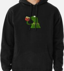 Funny Kermit That's None Of My Business Pullover Hoodie
