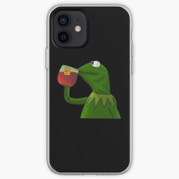 Funny Kermit That's None Of My Business iPhone Soft Case