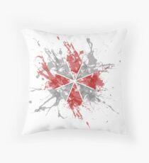 Resident Evil Umbrella Splatter Design Coussin