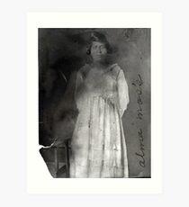 ALMA MOSS, McCracken County, Kentucky Art Print