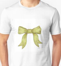 Green Ribbon Bow T-Shirt