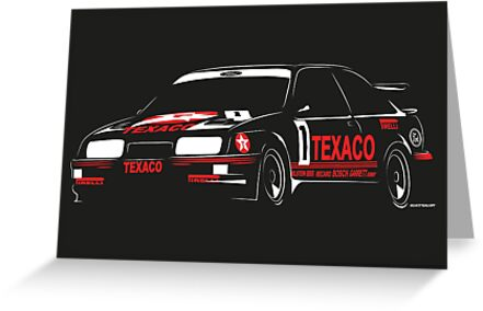 Ford Sierra RS500 Cosworth Touring Car by velocitygallery