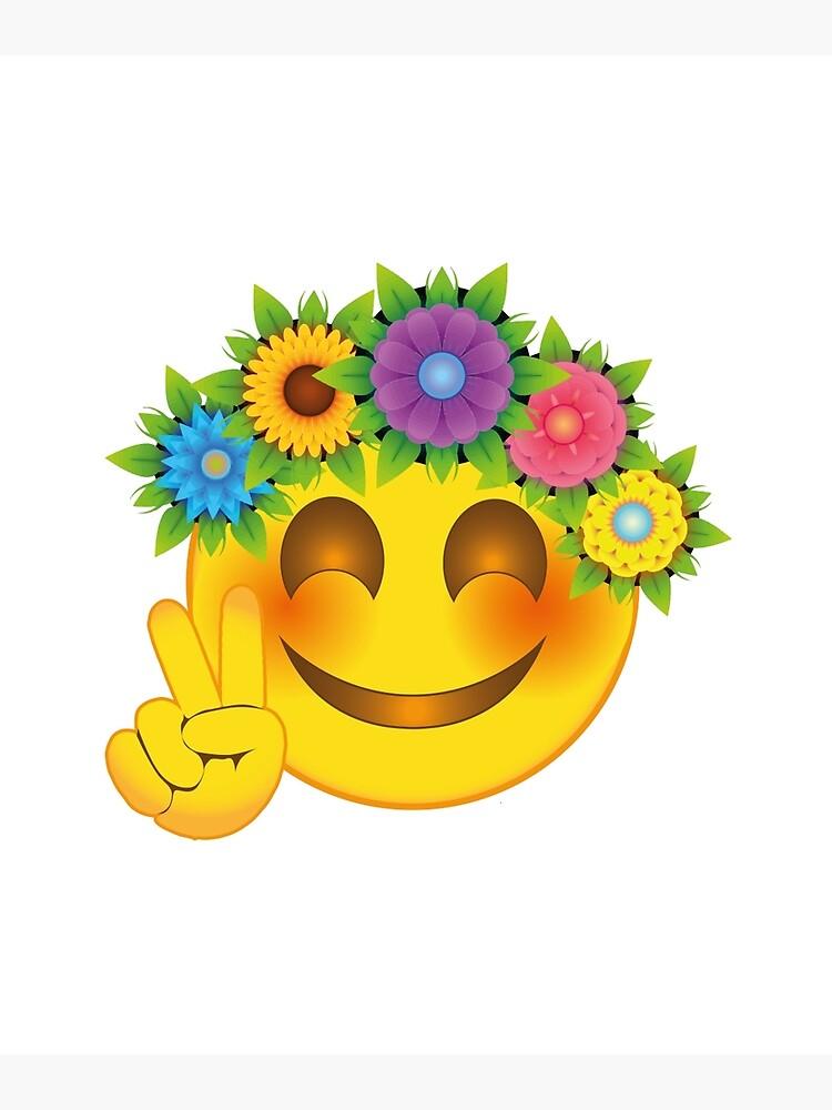 Mit blumenstrauß smiley ▷ Blumen