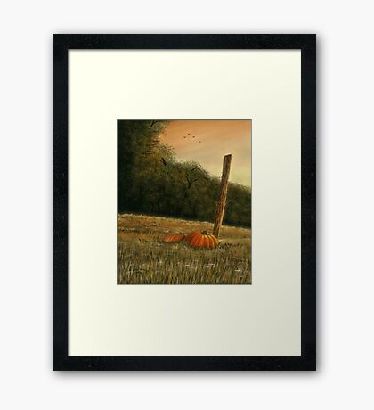 """""""October in the South""""... prints and products Framed Print"""