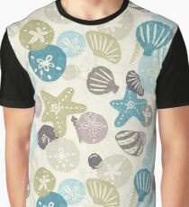 A Walk on the Beach Graphic T-Shirt