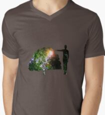 Eco Warrior (Male) Mens V-Neck T-Shirt