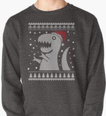 Christmas Dino Ugly Sweater T-Shirt Pullover Sweatshirt