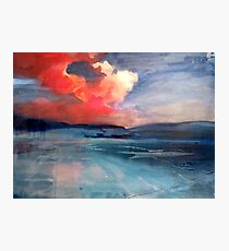 Sky on Fire Photographic Print