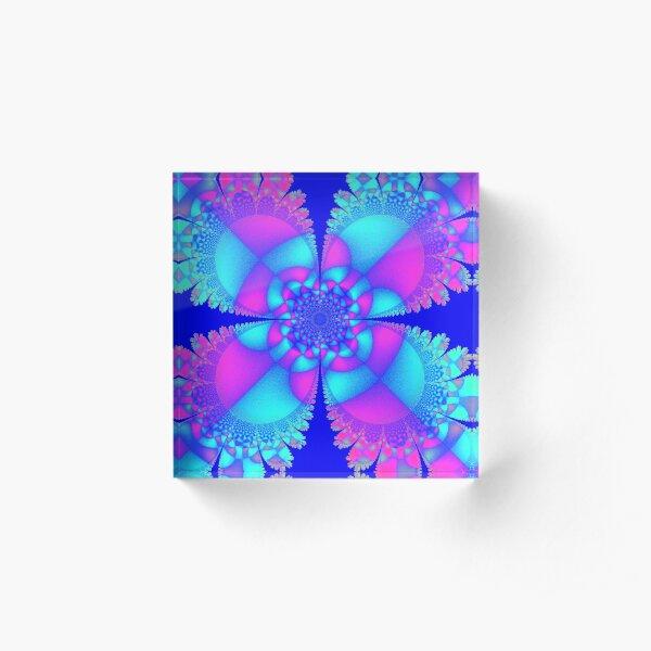 Four Leaf Clover Acrylic Block