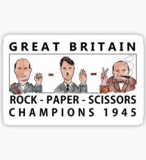 Rock Paper Scissors Champions Sticker