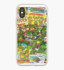 Vintage Comic Teenage Mutant Held Schildkröten iPhone-Hülle & Cover