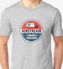 Airstream Travel Trailer Vintage Decal Unisex T-Shirt