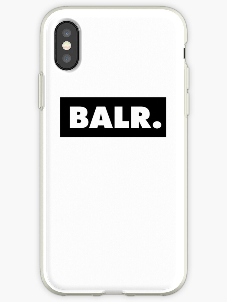 brand new 89e73 23a2d 'BALR ' iPhone Case by misdememeor