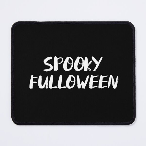 Spooky Fulloween Mouse Pad