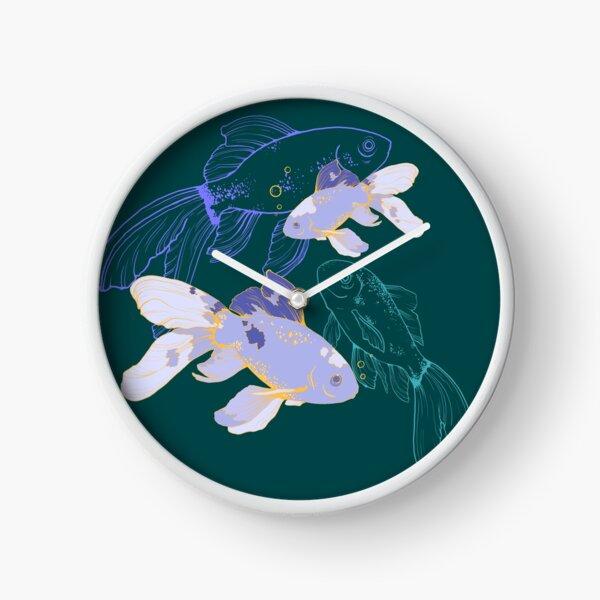 Fish auras  Clock