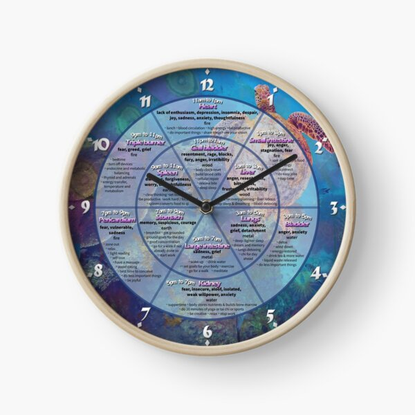 Chinese body clock Clock