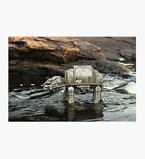 River crossing Photographic Print
