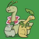 Leafy Dino's by Aniforce