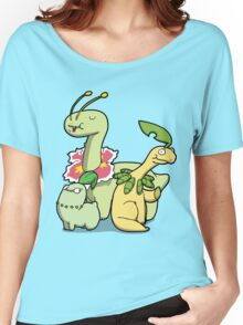 Leafy Dino's Women's Relaxed Fit T-Shirt