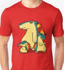 Three Flaming Weasels T-Shirt