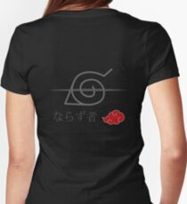 Leaf Village - Rogue Womens Fitted T-Shirt