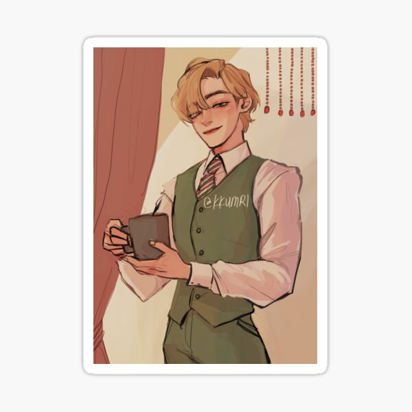 cafe owner taehyuhng Sticker