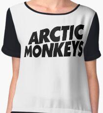 Artic Monkey Logo Chiffon Top