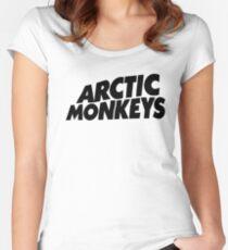 Artic Monkey Logo Women's Fitted Scoop T-Shirt