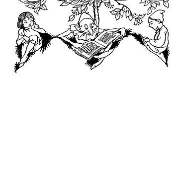 Arthur Rackham Story Time by bareknucklepoet