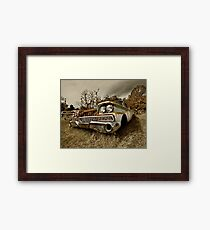 Abandoned 1959 Ford Galaxie 500 Framed Print
