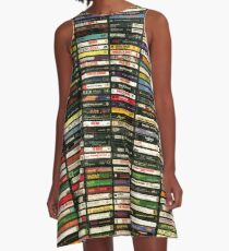 Tapes and Tapes and Tapes A-Line Dress