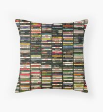 Tapes and Tapes and Tapes Throw Pillow