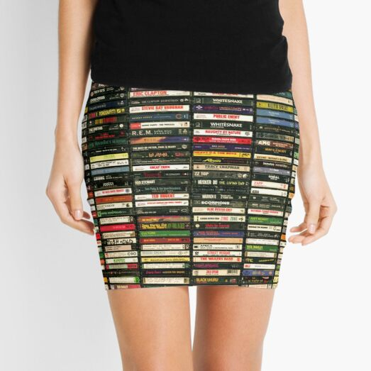 Tapes and Tapes and Tapes Mini Skirt