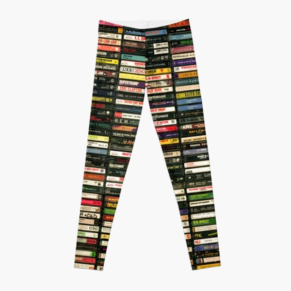 Tapes and Tapes and Tapes Leggings