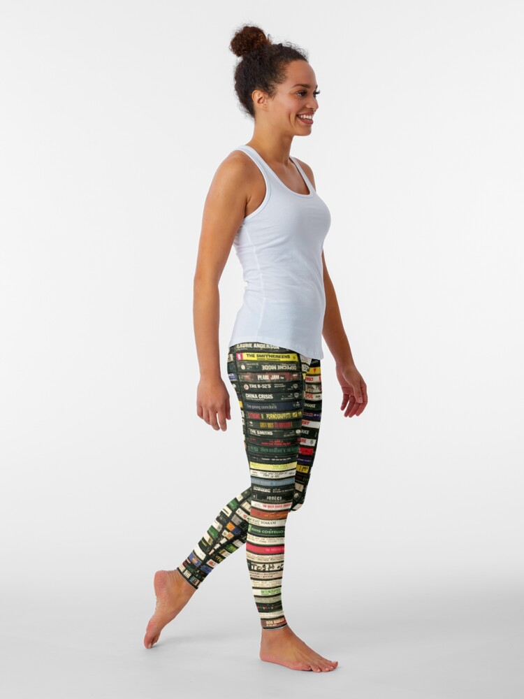Alternate view of Tapes and Tapes and Tapes Leggings