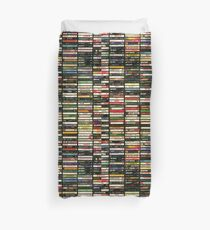Tapes and Tapes and Tapes Duvet Cover