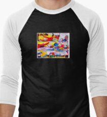 Comic cartoon Men's Baseball ¾ T-Shirt