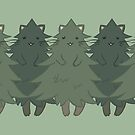 Fur Trees by dcrownfield