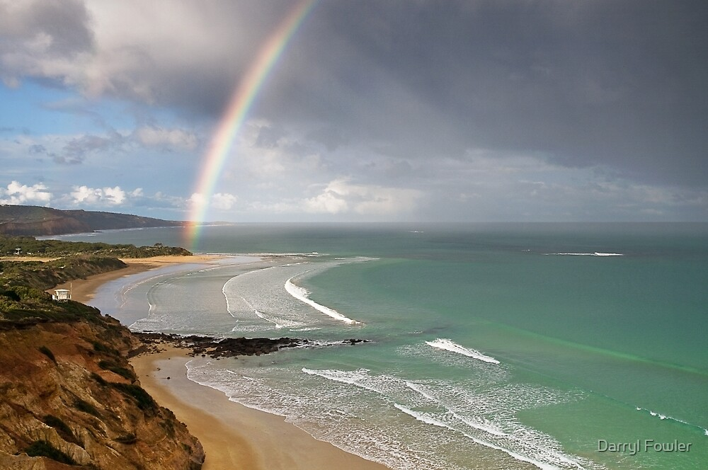 Spring Shower,Anglesea,Great Ocean Road. by Darryl Fowler