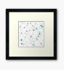 Abstract Night Framed Print