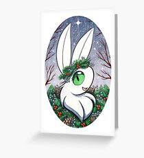 Winter-Crowned Greeting Card