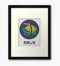 Ninja Turtles Framed Print