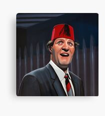 Tommy Cooper Painting Canvas Print