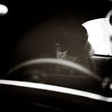 Time passed slowly as she awaited her driver's return by JimFilmer
